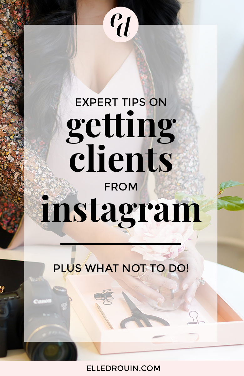 Instagram isn't just for pretty pictures or product-based businesses. 5 experts share tips on getting clients from Instagram - plus beginner mistakes / what NOT to do!