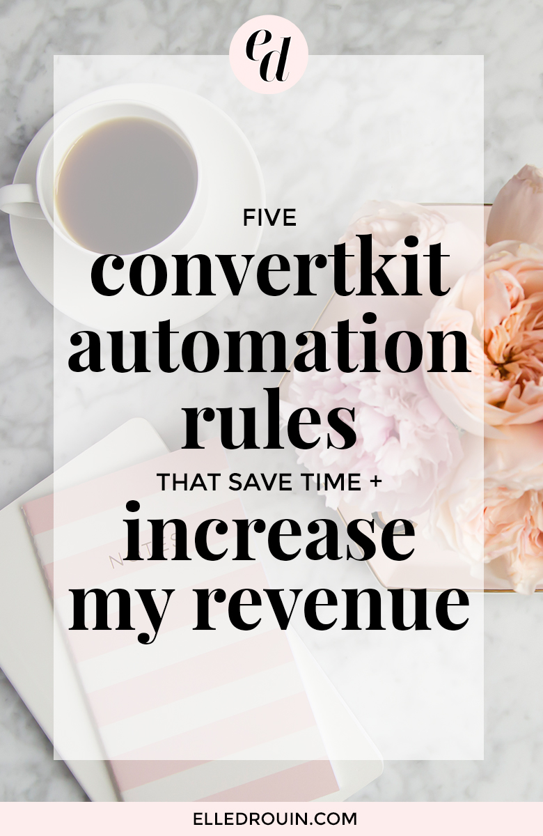 How I use ConvertKit automation to save time and increase revenue for my online business. Learn these helpful email marketing hacks to make more money from your small business or blog on autopilot!