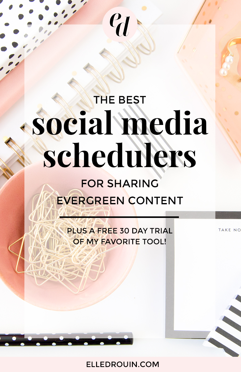 The best social media schedulers for sharing evergreen content - I've tried different social media tools so you don't have to - get the scoop on which social media scheduler is the best for automatically re-sharing content.