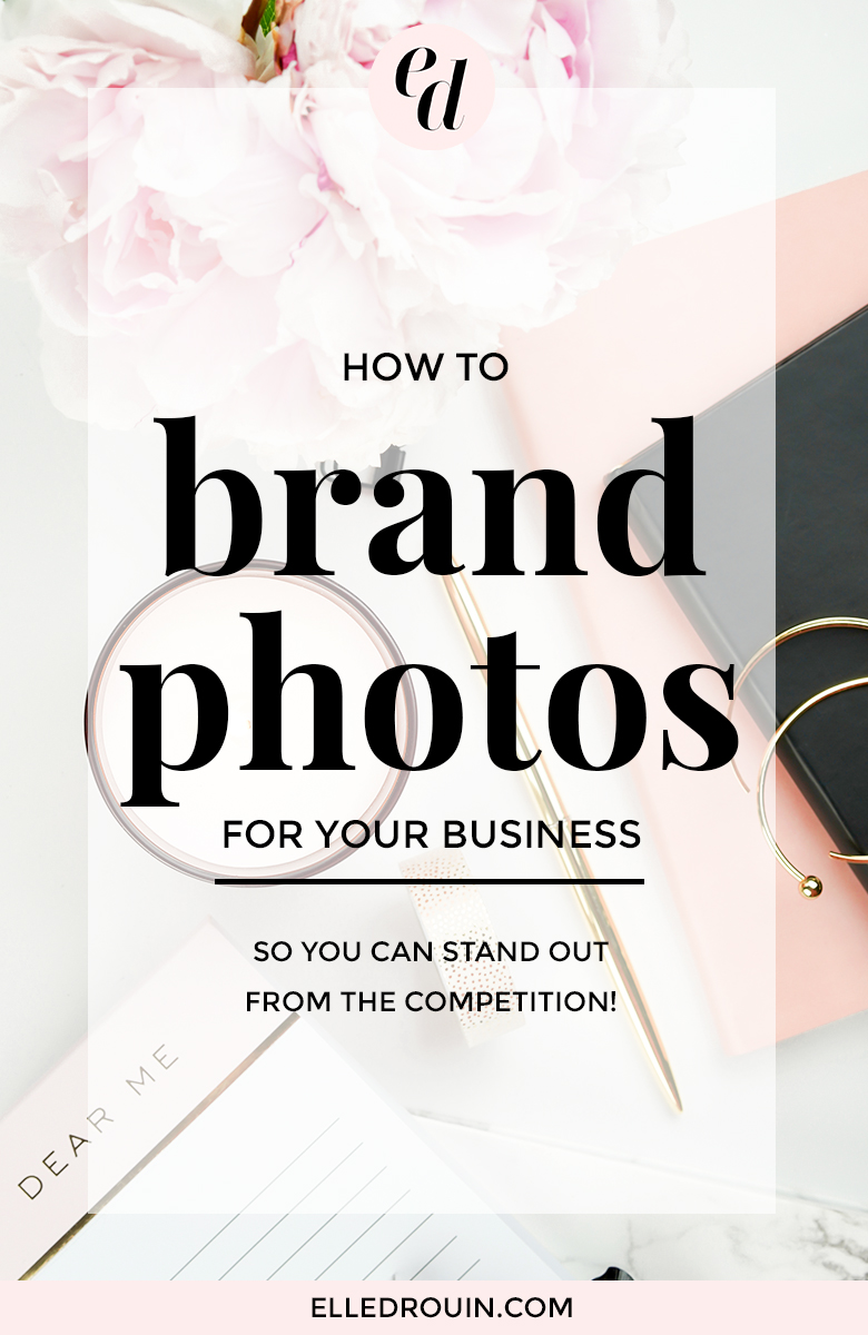 How to brand photos for your online business or blog.