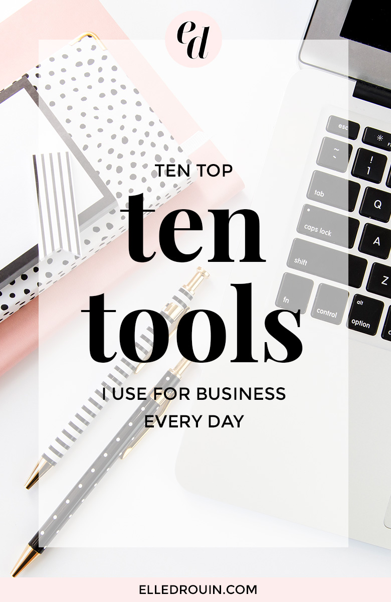 10 tools I use to run my online business - from website hosting to marketing management and more - I couldn't live without these tools!