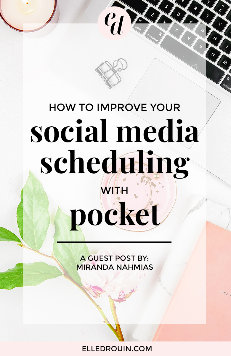 How to improve your social media scheduling with pocket - this time-saving tool makes it easy to save and share relevant content. Click through to find out how bloggers, online entrepreneurs, and virtual assistants can use Pocket to save time!