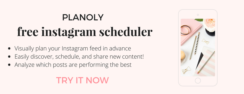 Planoly - best visual Instagram scheduling tool