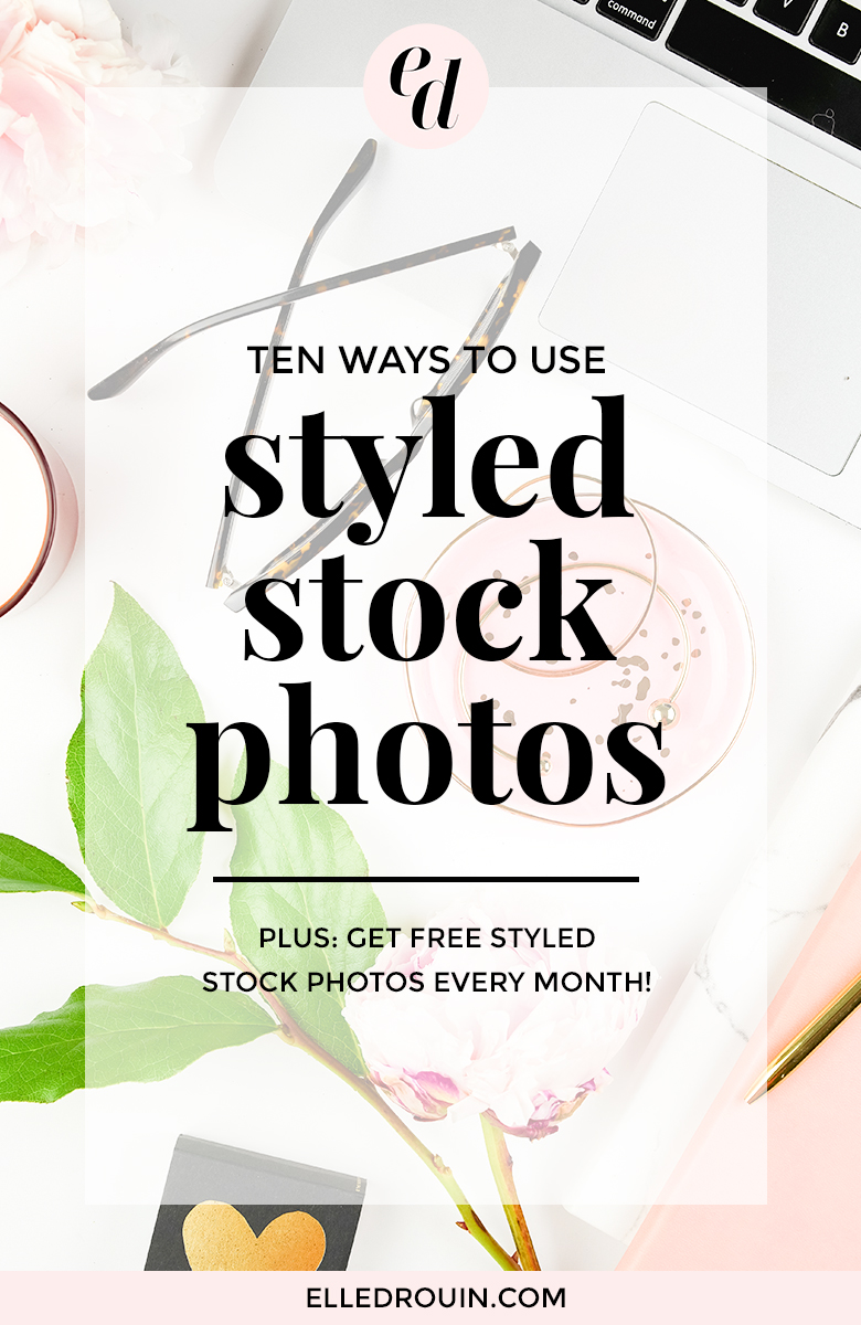 10 easy way to use styled stock photos for your blog or online business. Tips on using styled stock photos in creative ways to build your brand and market your business. Get access to styled stock photos for female entrepreneurs and bloggers.