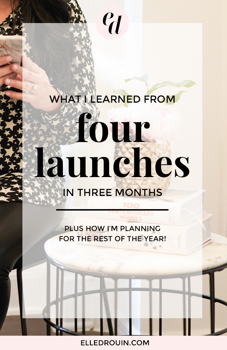 What I Learned from Four Launches in Three Months - Launching Courses + Subscriptions