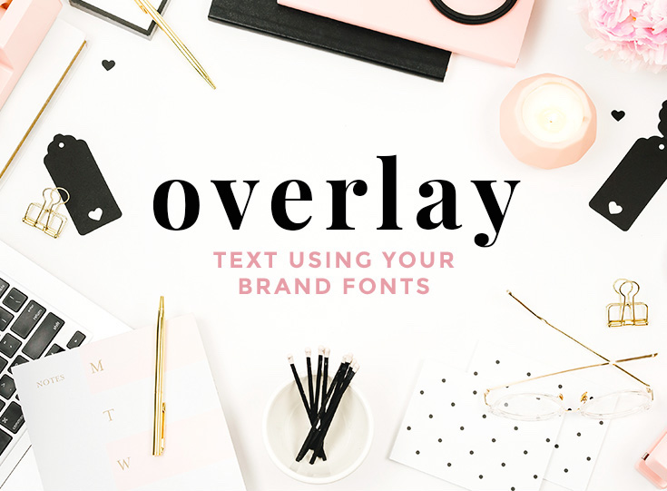 Customize Stock Photos with Text Overlay