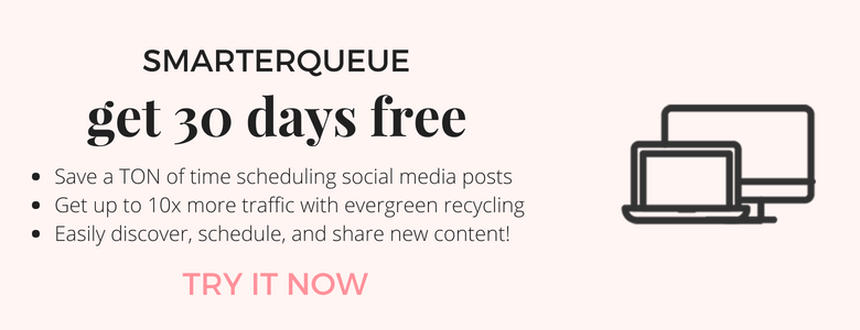 SmarterQueue - evergreen social media scheduling tool