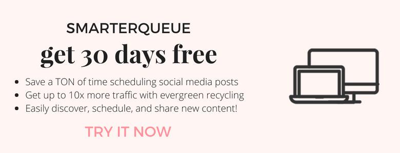 SmarterQueue - evergreen social media scheduling tool