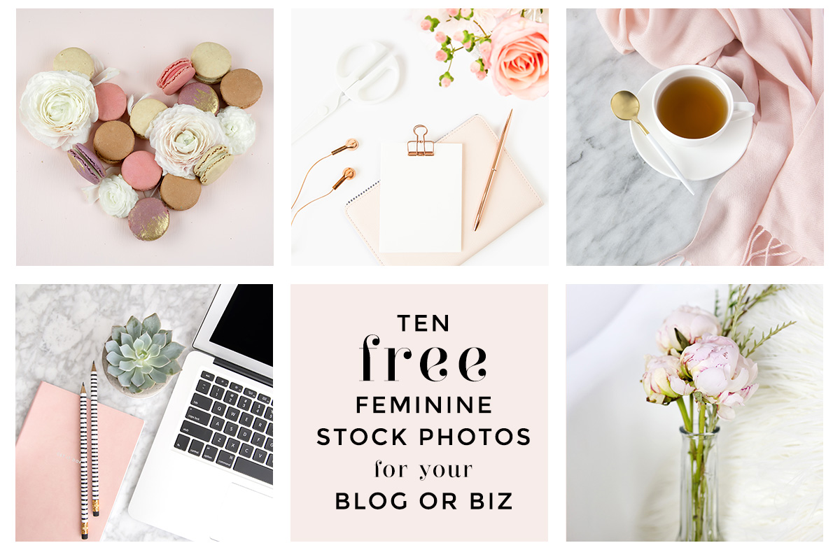 Styled Stock Society by Elle Drouin - free feminine stock photos
