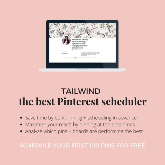Tailwind Best Pinterest Scheduler for Bloggers